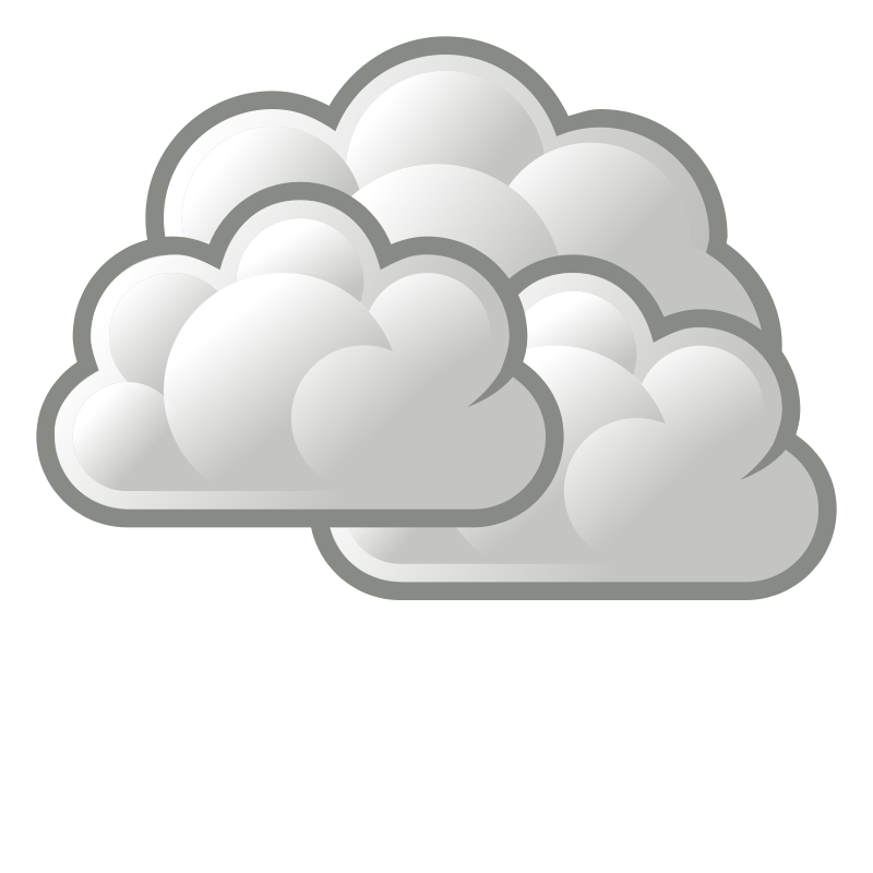 Cloudy clipart s cloudy. Its