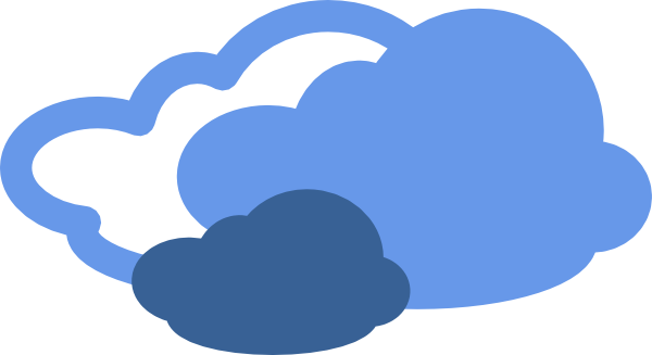 cold clipart cloudy
