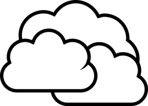 Cloudy clipart s cloudy. Weather clip art at