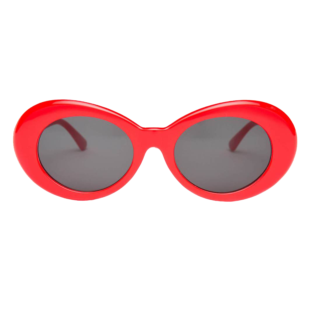 Clout glasses png. Red goggles merchyes
