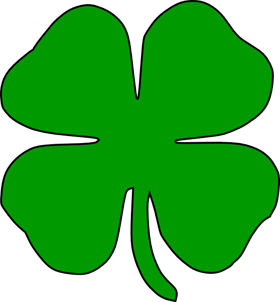 Vector clover notre dame. Logo clip art at