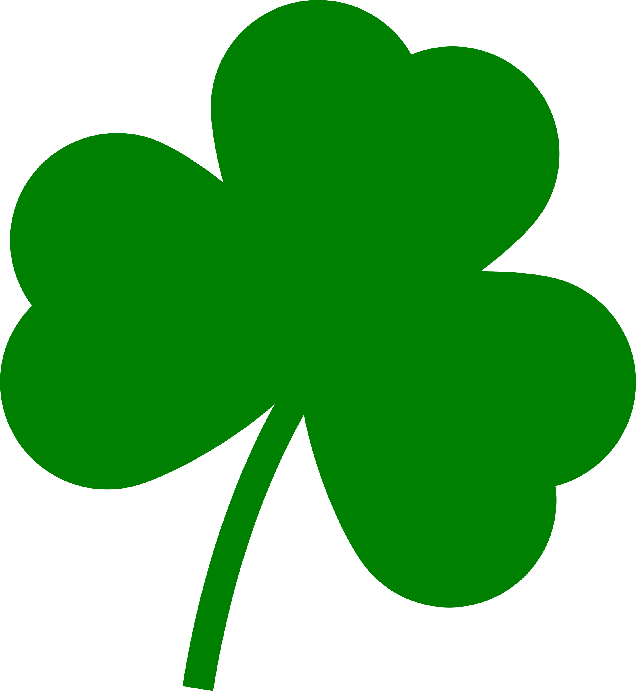 Png images free download. Transparent clover graphic black and white stock