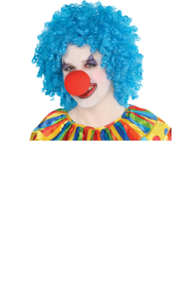 Clown afro png. Men s fancy dress
