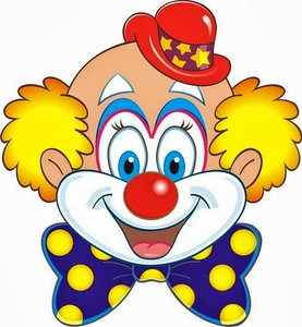 Funny free images at. Clown clipart pichers vector library