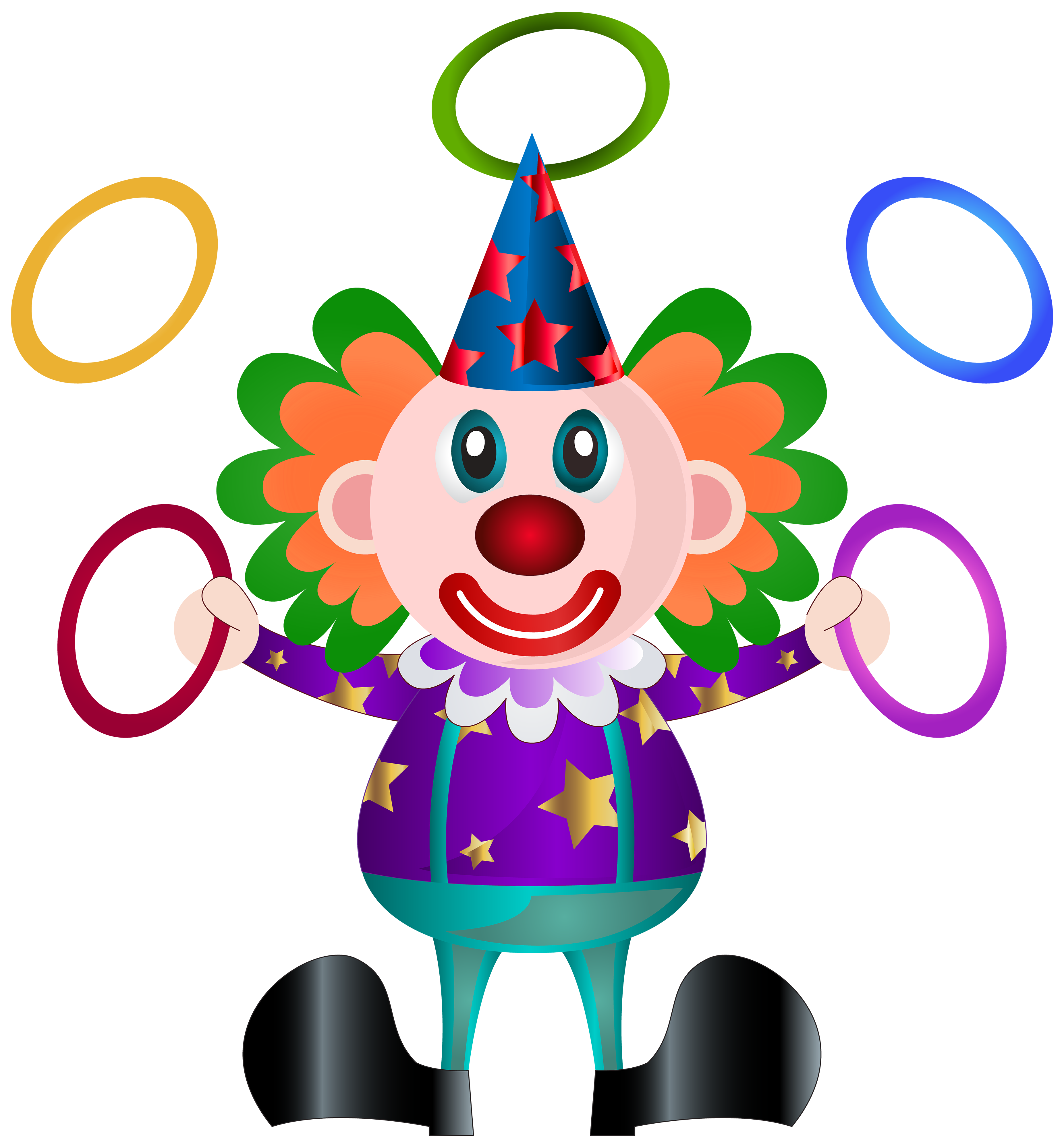 Clown PNG Clip Art Picture | Gallery Yopriceville - High-Quality ...