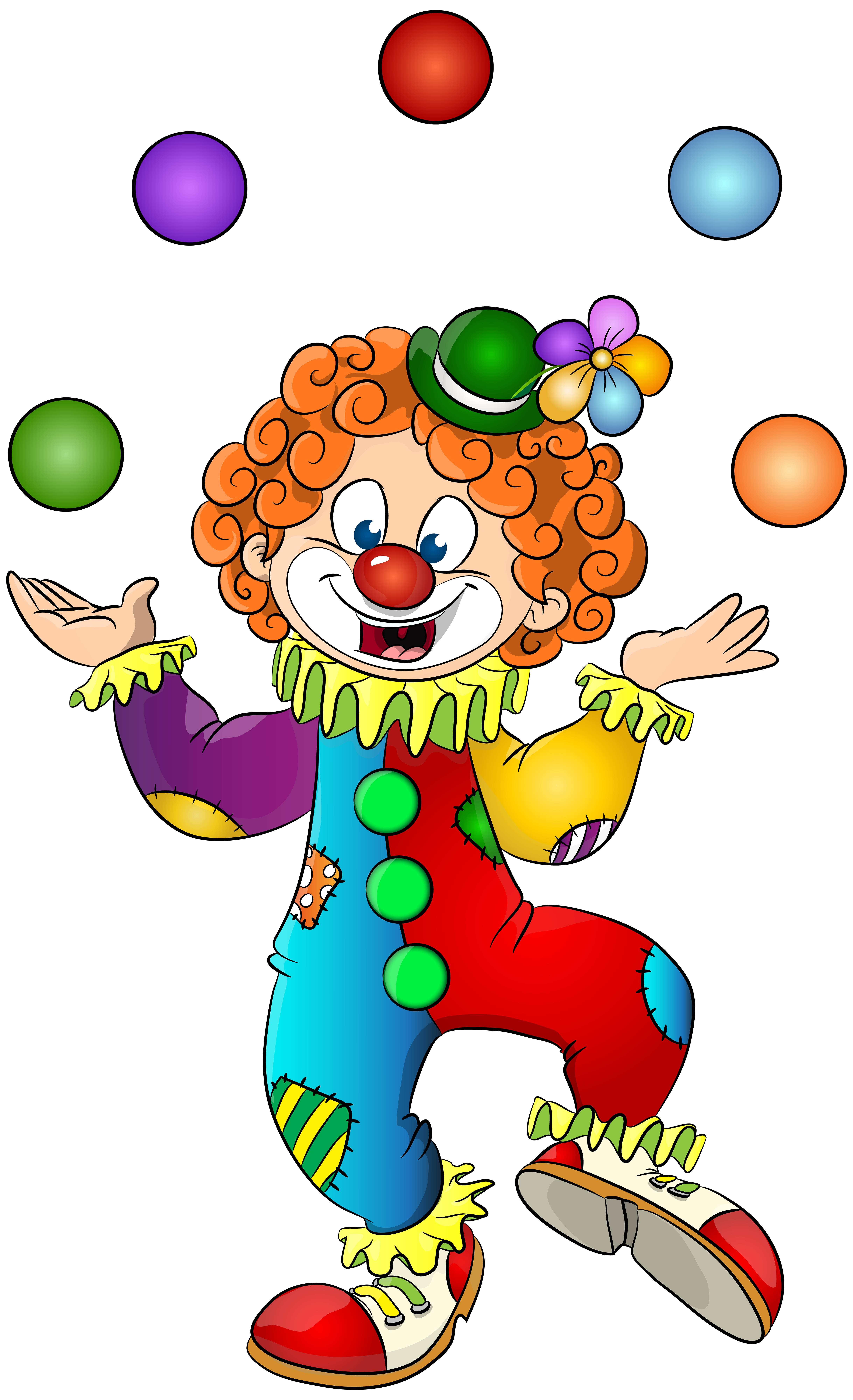 Transparent clip art image. Clown clipart png royalty free stock