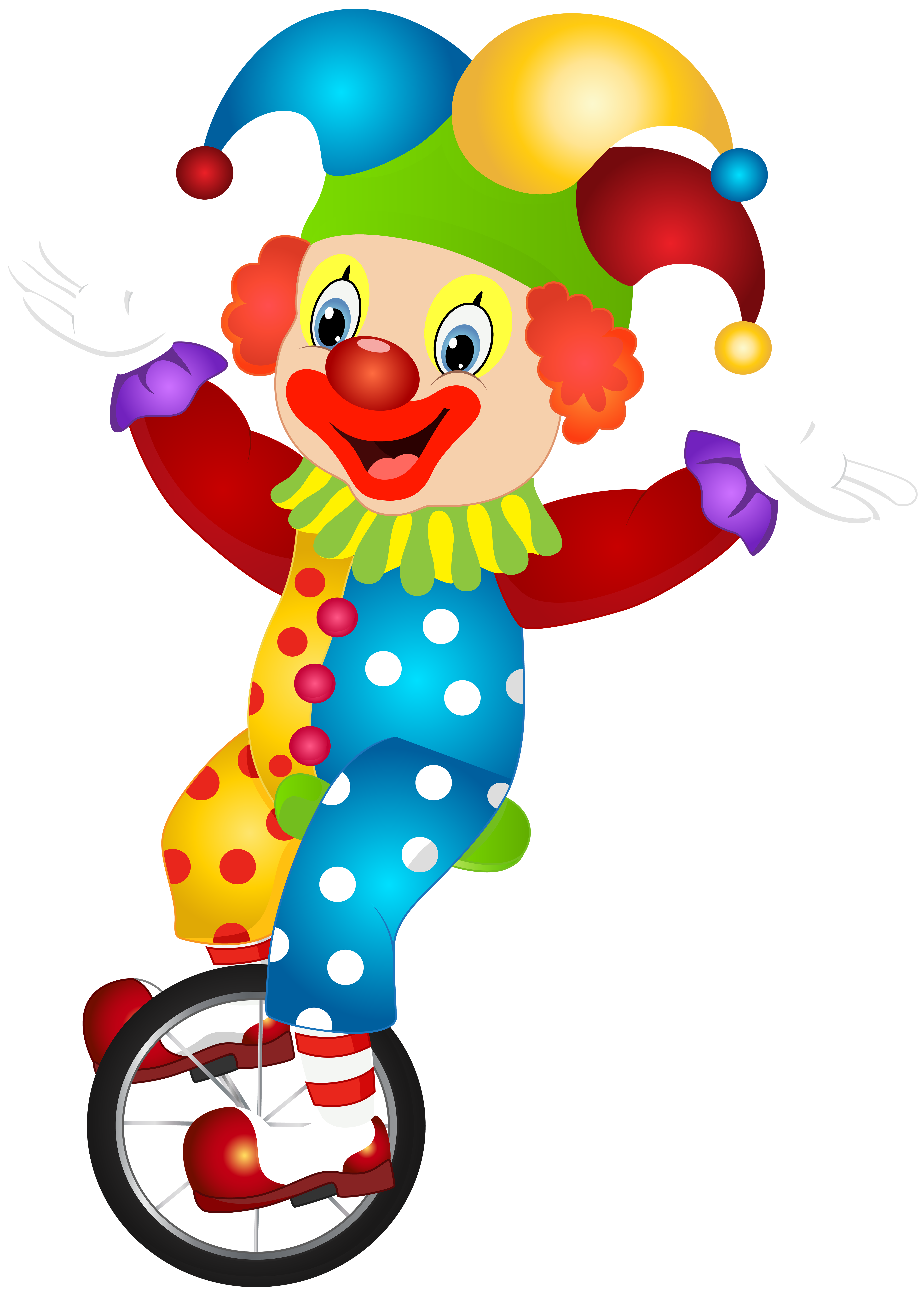 Cute clip art image. Clown clipart png png library