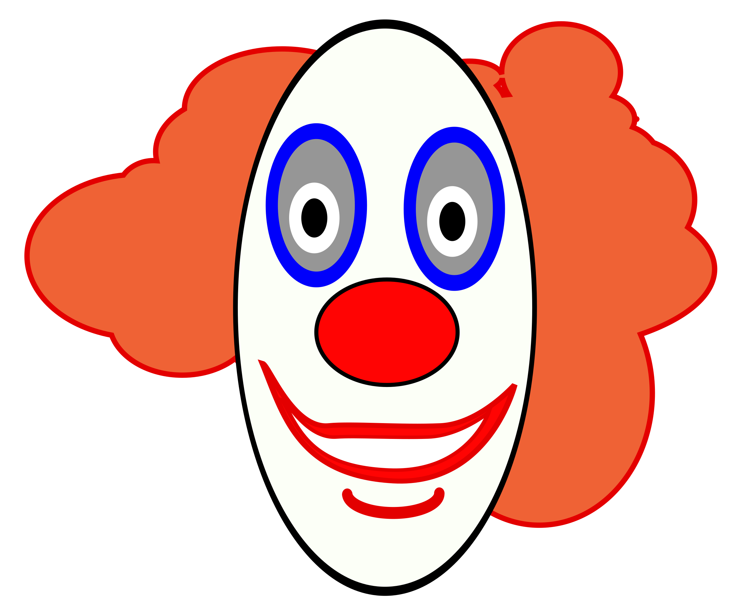 Clown face png. Creepy icons free and