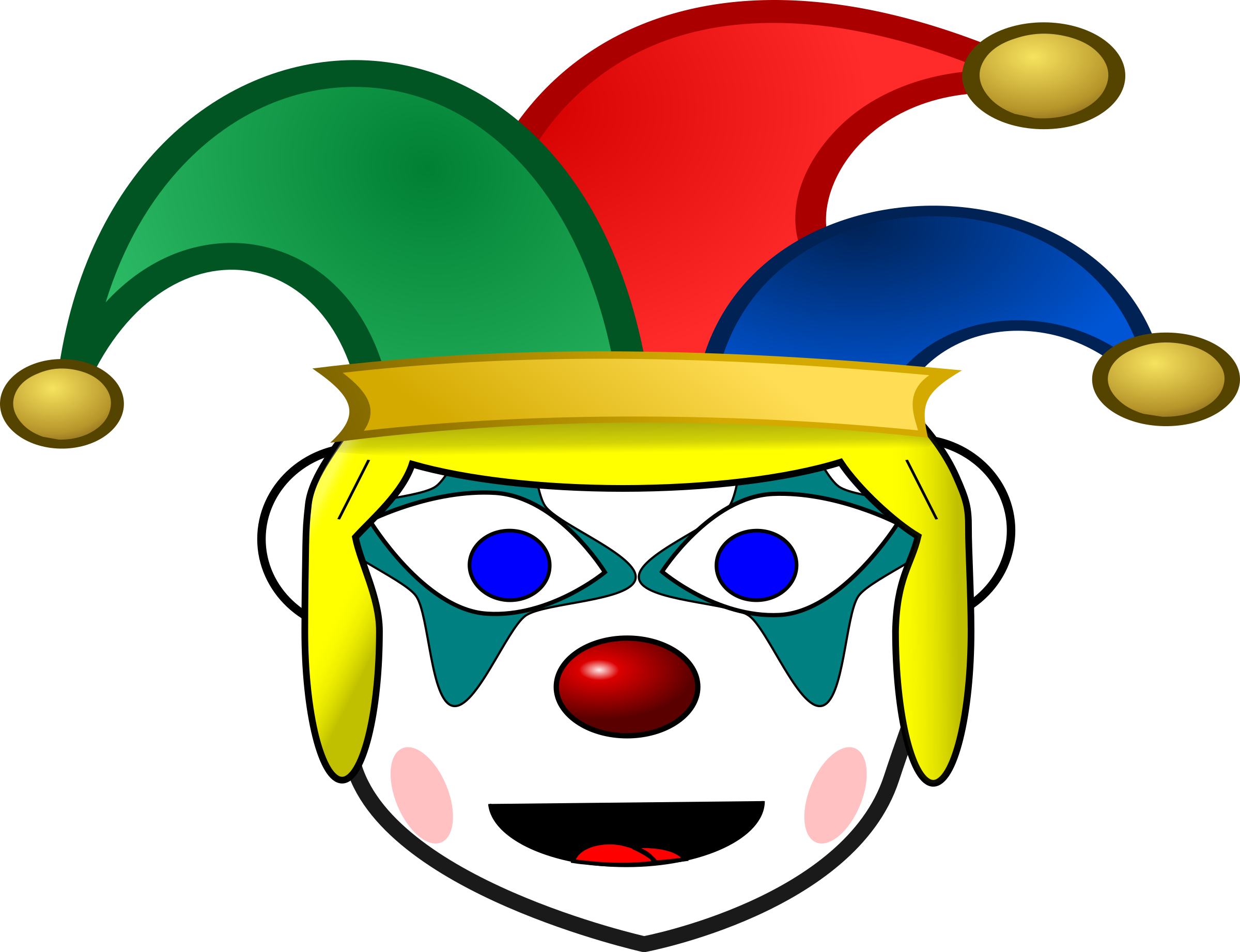 Clown girl png. Happy icons free and