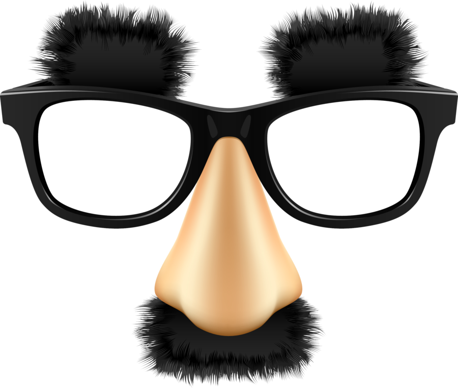 funny glasses png