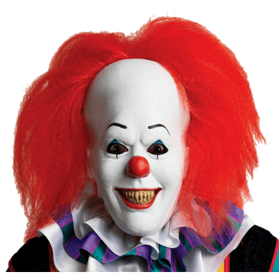 Clown hair png. Red scary halloween transparent