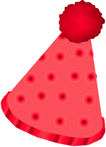 Clown hat png. Red by clipartcotttage on