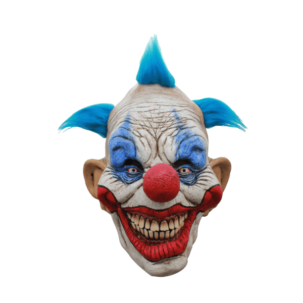 Clown mask png. Scary halloween transparent stickpng