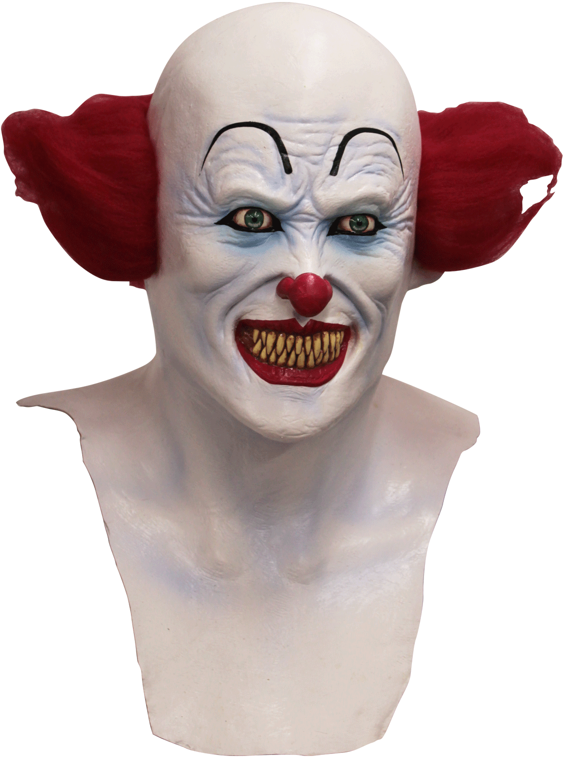 Clown mask png. Scary mystique costumes