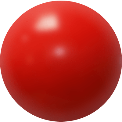 Clown nose png. Red transparent stickpng
