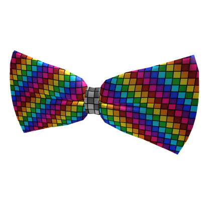Clown tie png. Roblox rainbow bow