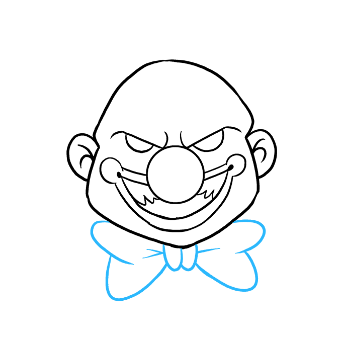 Drawing clowns clow. How to draw a