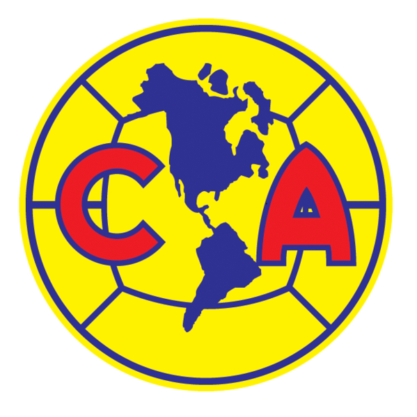 Club america logo png. Soccer badges patches pinterest