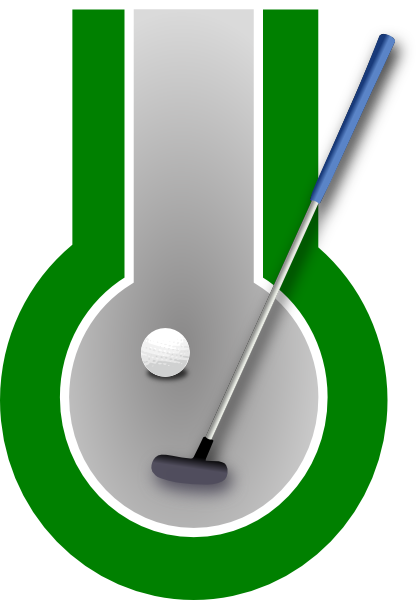 Club clipart mini golf. Free and animations