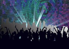 Club clipart night club. Free nightclub footage and
