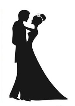 Square dance silhouette clip. Club clipart wedding dancing picture library