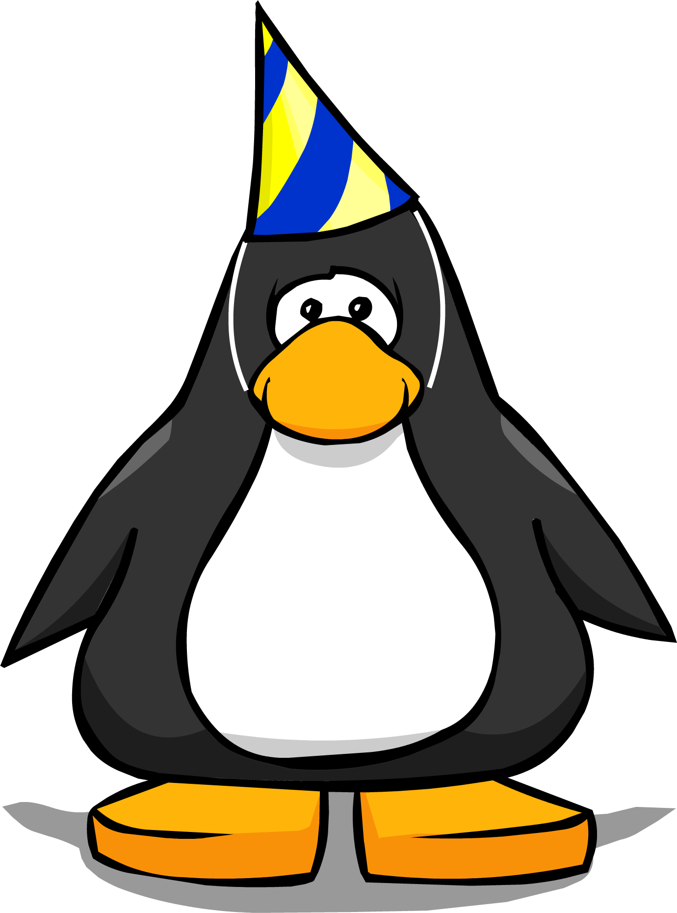 Club penguin penguin png. Image beta hat player