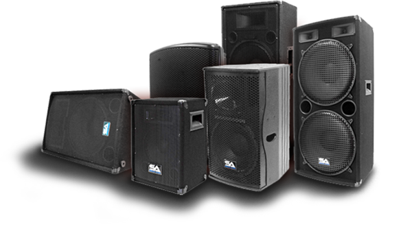 Club speakers png. Seismic audio pro speaker