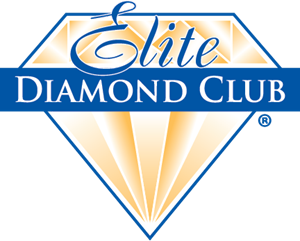 Club vector diamond. Elite logo ai free