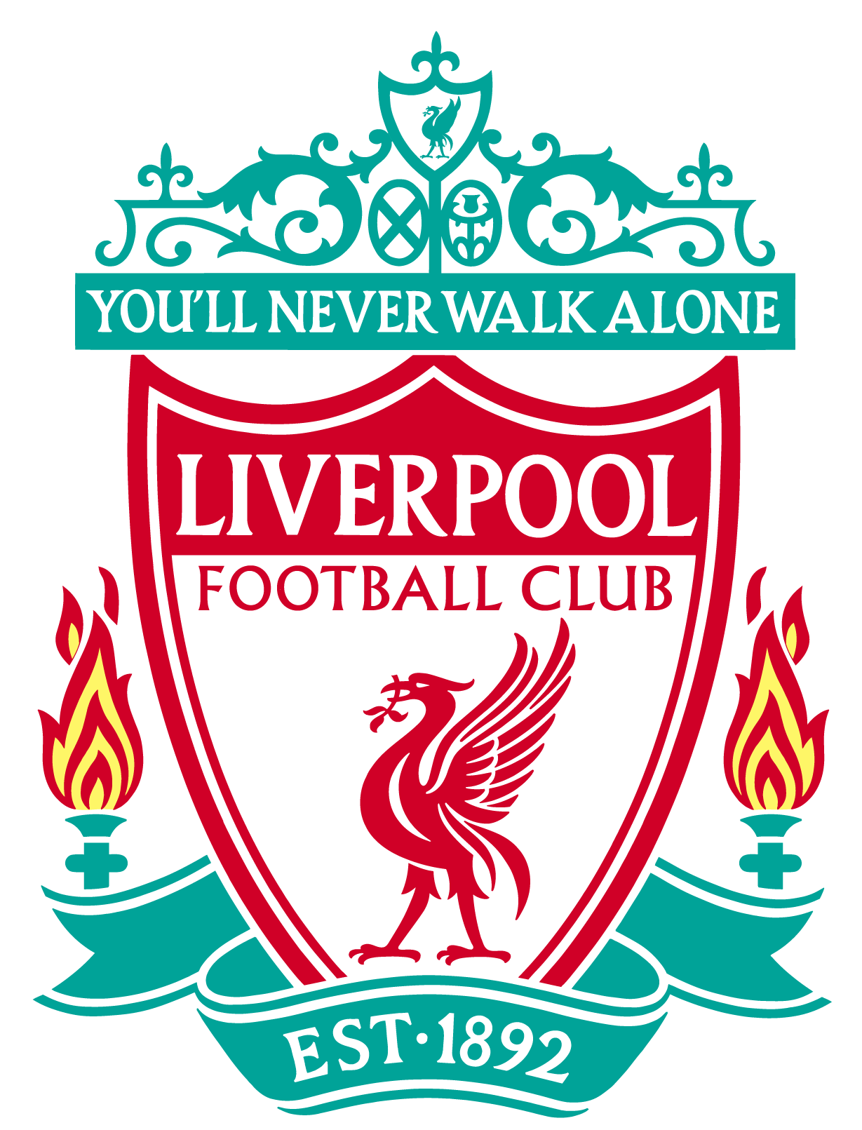 Club vector modern. Liverpool fc logo eps