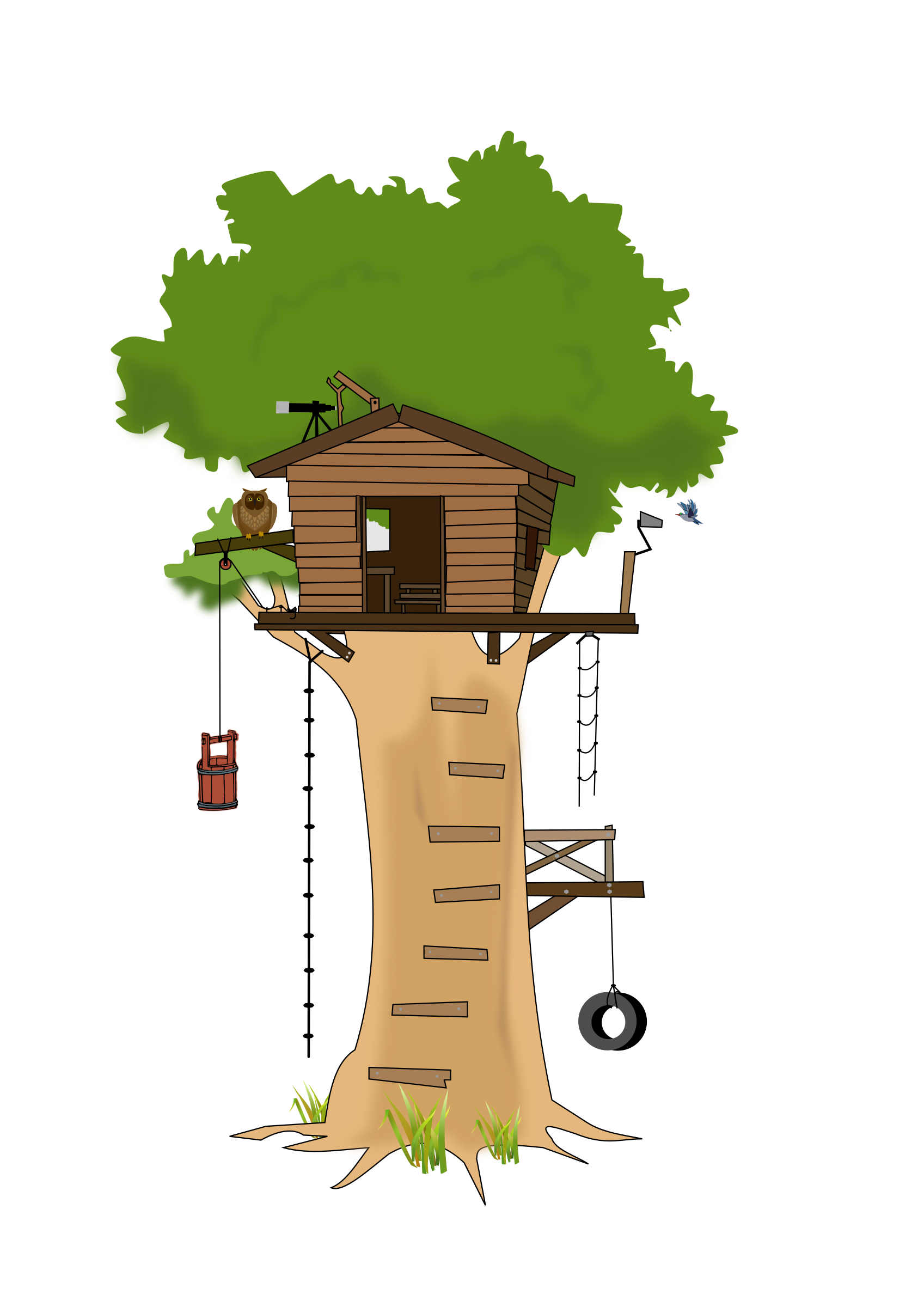 Clubhouse clipart tree house. Club big image png