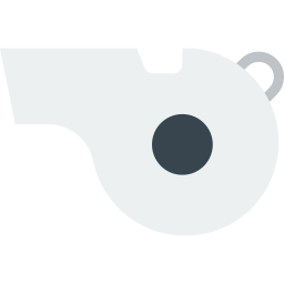 Coach clipart ref whistle. Icon myiconfinder