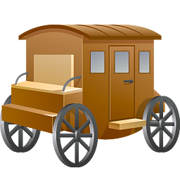 Wagon vector coach. Icons png free and