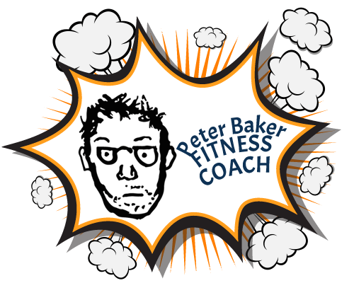 Baker drawing logo. Coaching peter online fitness