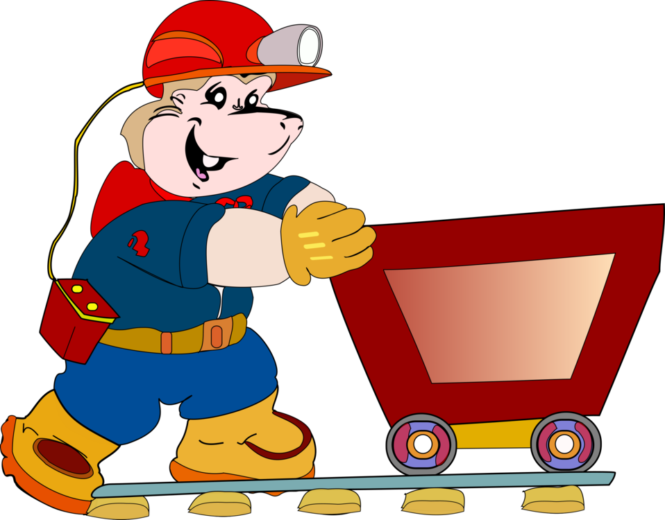Mining drawing coal energy. Power cartoon free commercial