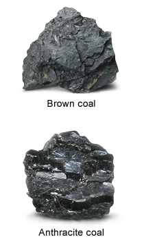 Coal transparent raw. How to produce gas