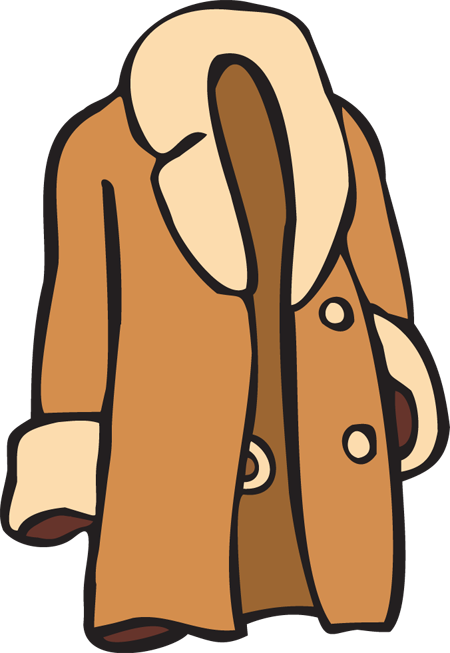Coat free . Jacket clipart banner freeuse library