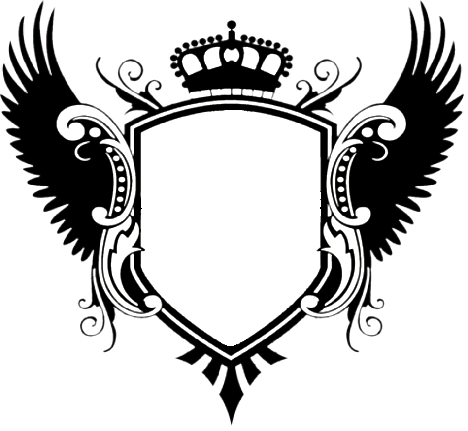 Wings google pinterest adobe. Blank family crest png transparent library