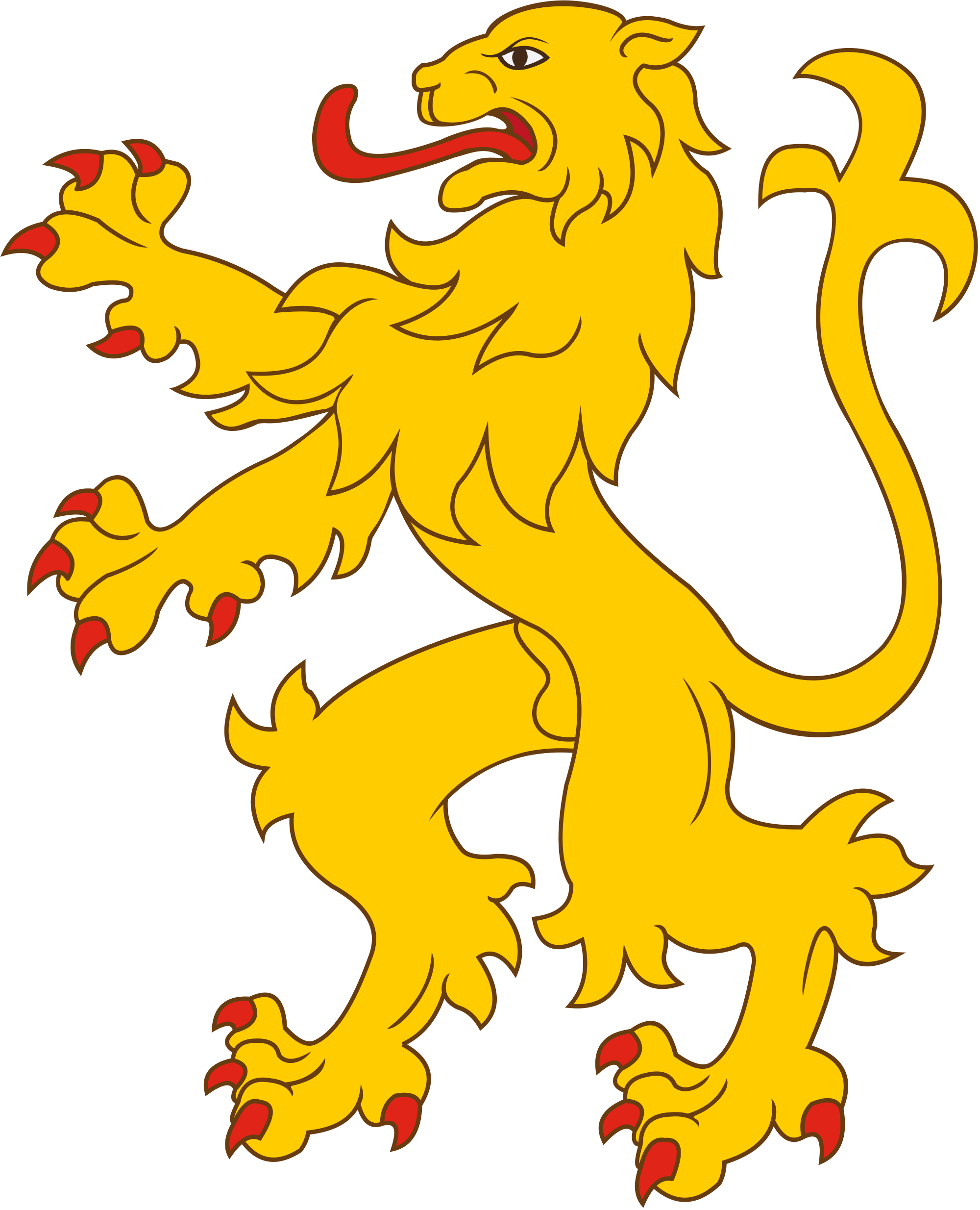File heraldic lion svg. Heraldry vector graphic royalty free download