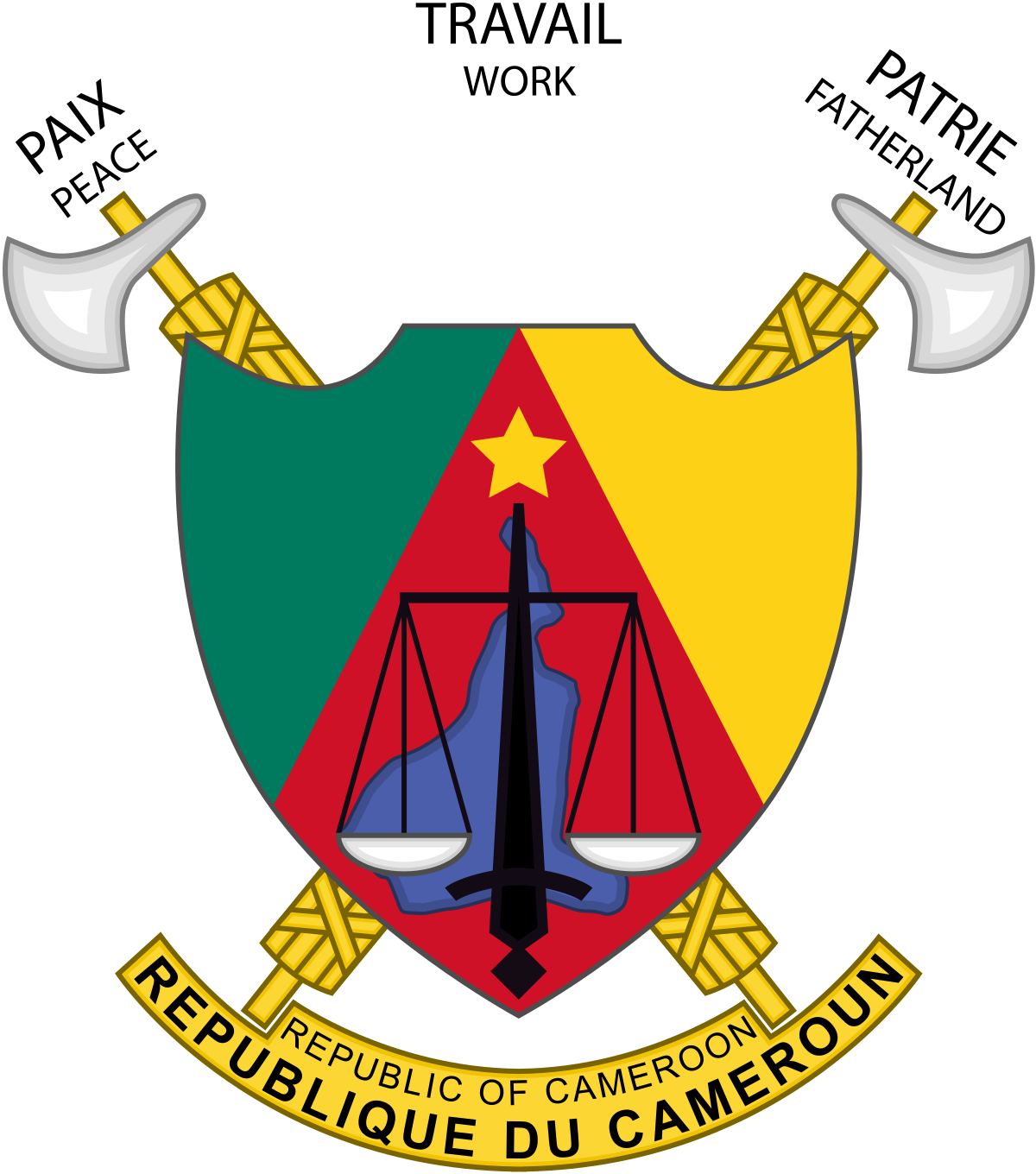 Coat of arms senegal png. Cameroon wikipedia
