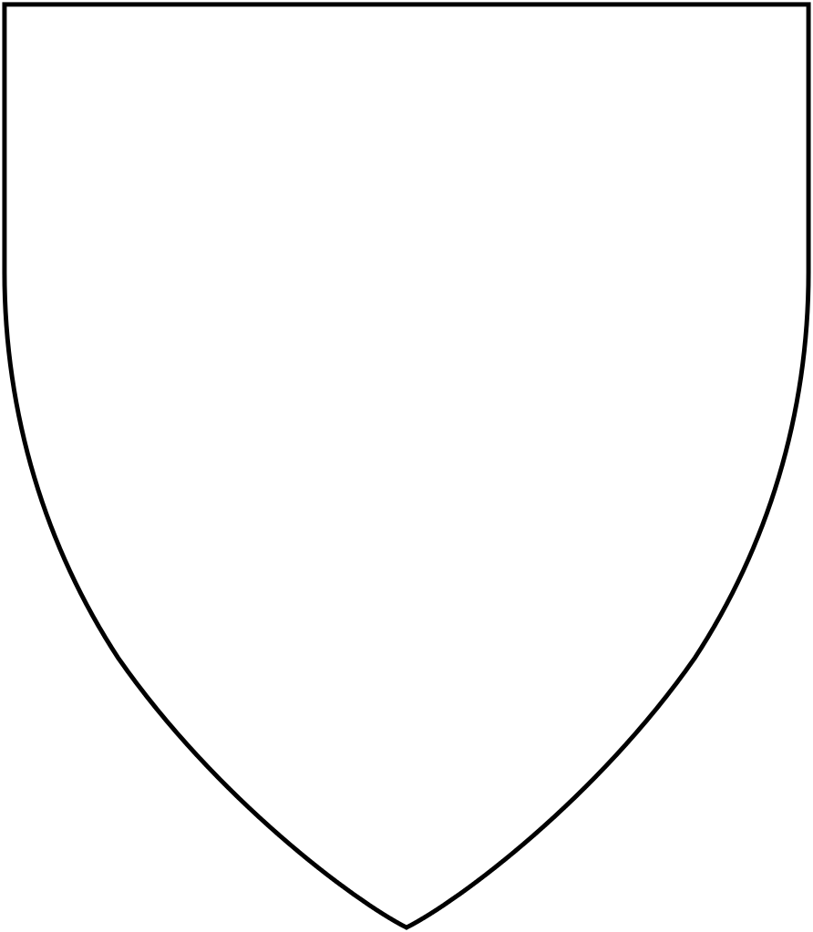 And svg shape. File heraldic shield x