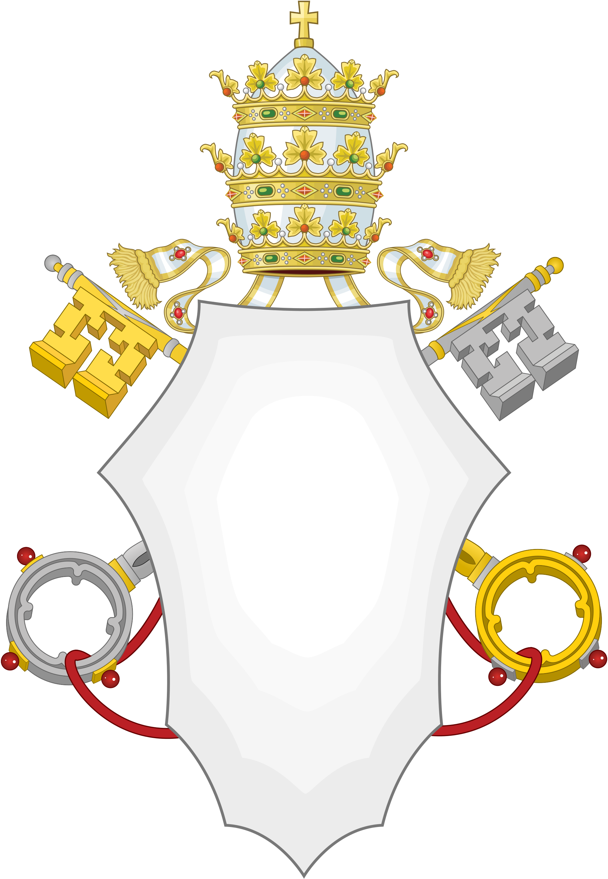Coat of arms template png. File papal svg wikimedia