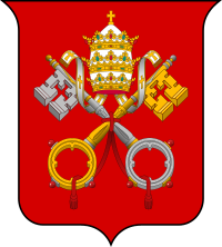 Coats of arms the. Vatican City png royalty free stock