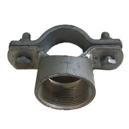 Cobra clip 50mm pipe. Supports and hanging gear