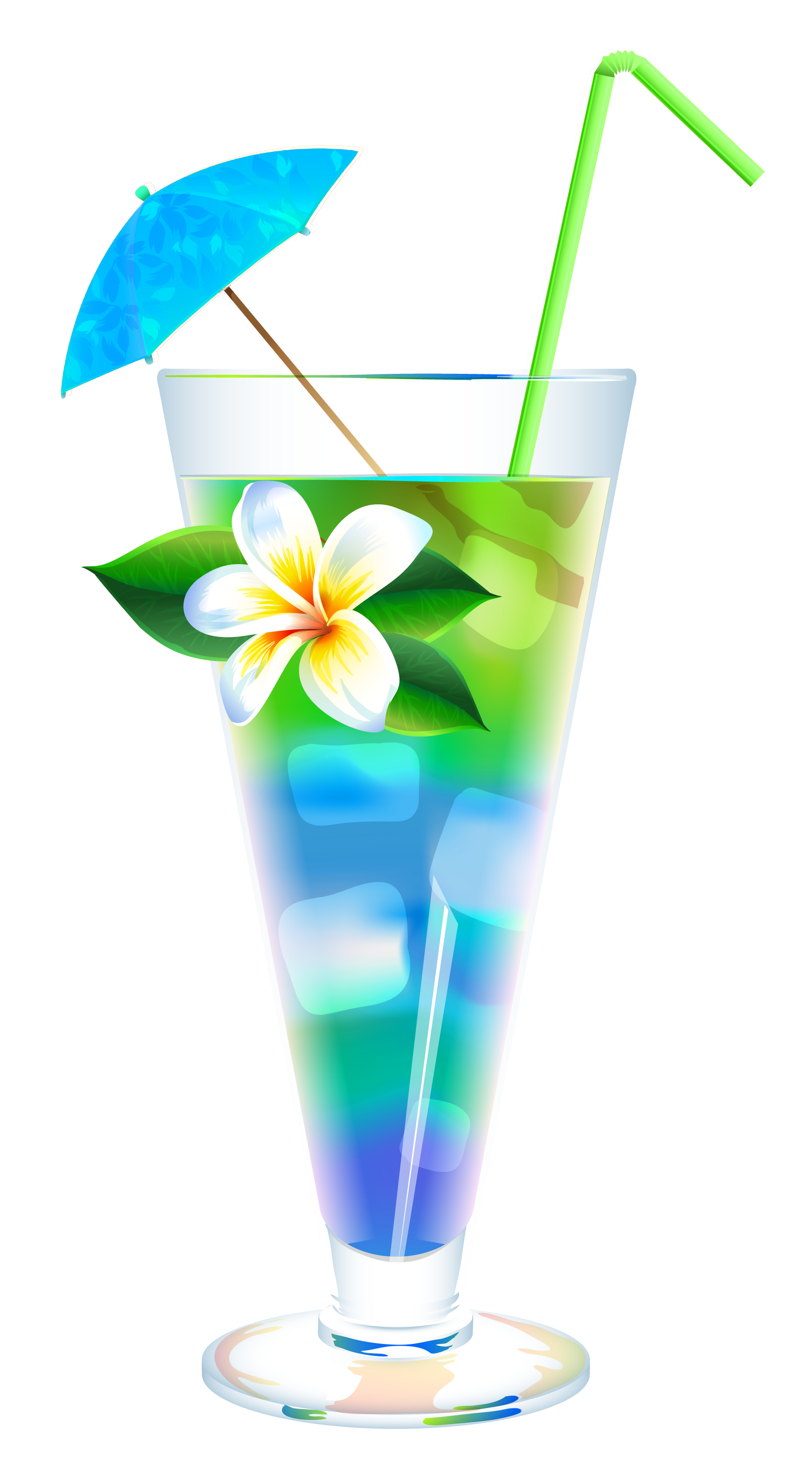 Beach drink png. Exotic summer cocktail clipart