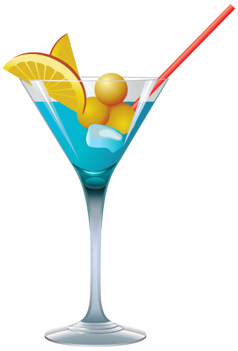 Tropical drink clipart png. Blue cocktail pinterest cocktails
