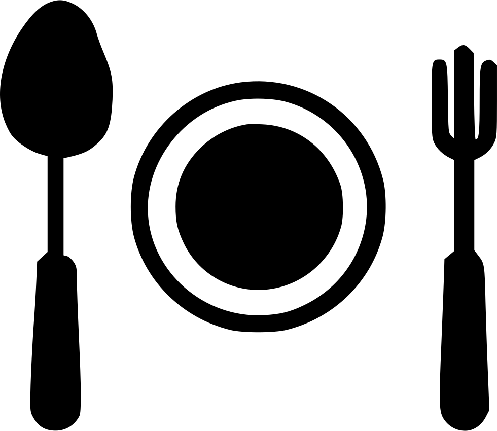 Plate fork png. Kitchen spoon egg recipe