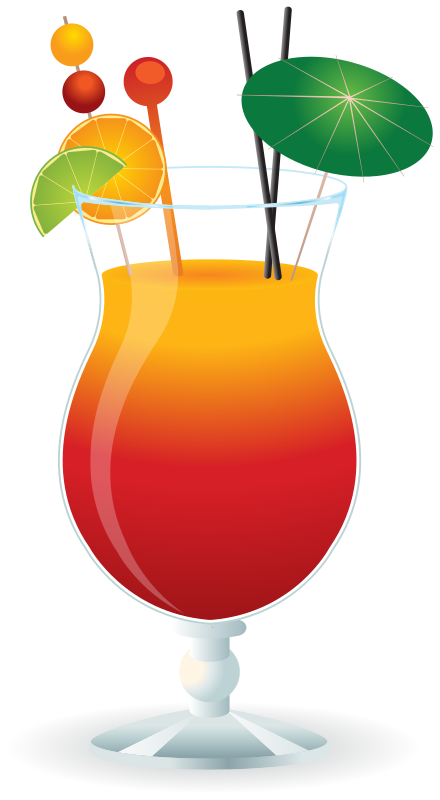 Tropical drink clipart png. Cocktail clip art free