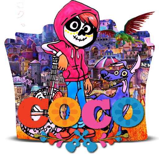 Coco 2017 png. Folder icon mazika by