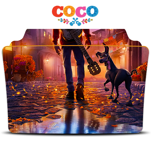 Coco 2017 png. Folder icon by zerriesmiles