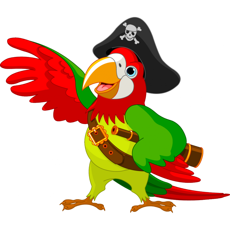 Coco animals png. The pirate stickers parrot